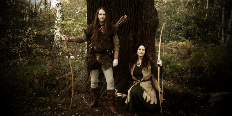 Robin Hood and Maid Marion of Sherwood Forest